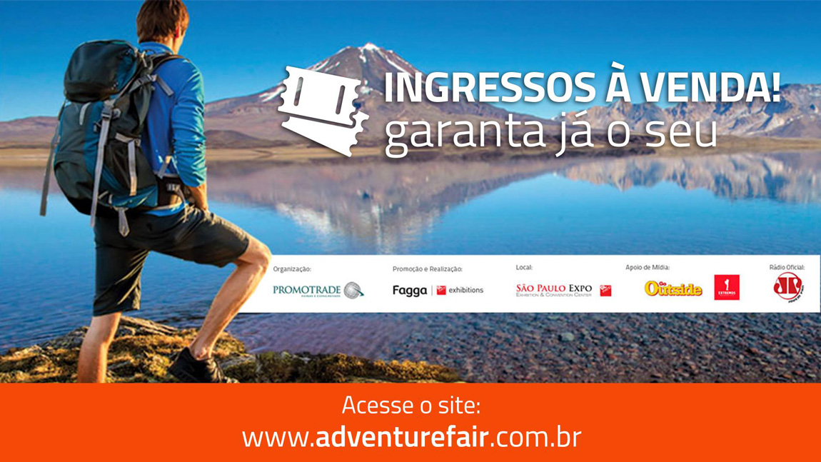 f9c7b8a726 Começou a venda de ingressos para a Adventure Sports Fair
