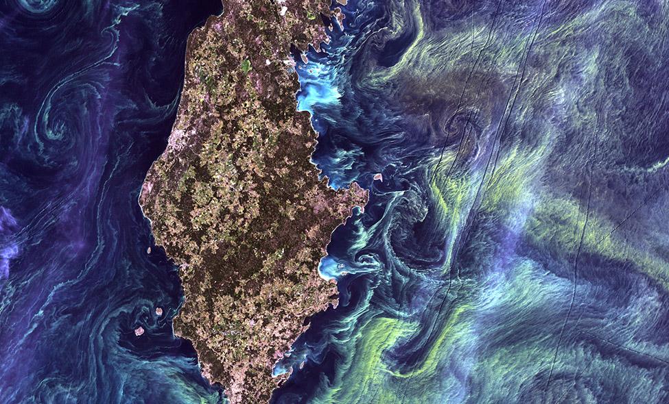 Foto: Landsat 7, em 13/7/2005