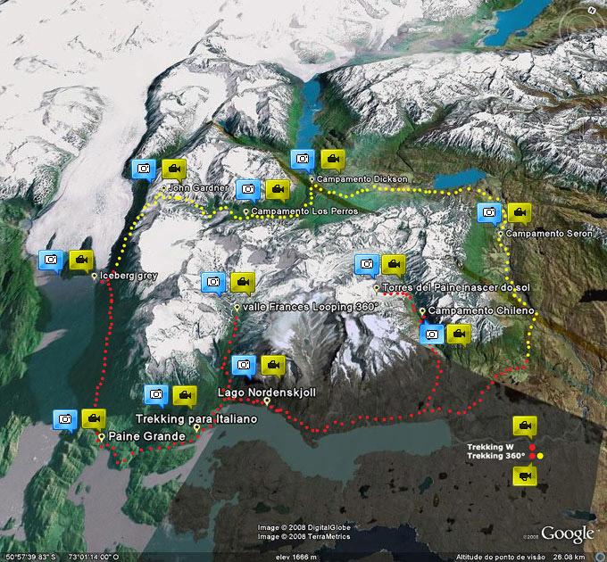 Circuito O Torres Del Paine : E t r m o s seu portal de aventura sonhe